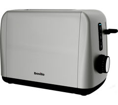 BREVILLE Outline VTT741 2-Slice Toaster - Stainless Steel