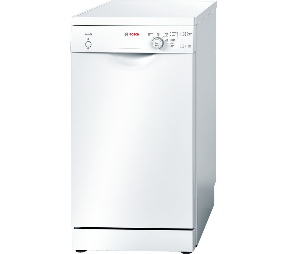 BOSCH  SPS40E32GB Slimline Dishwasher  White White