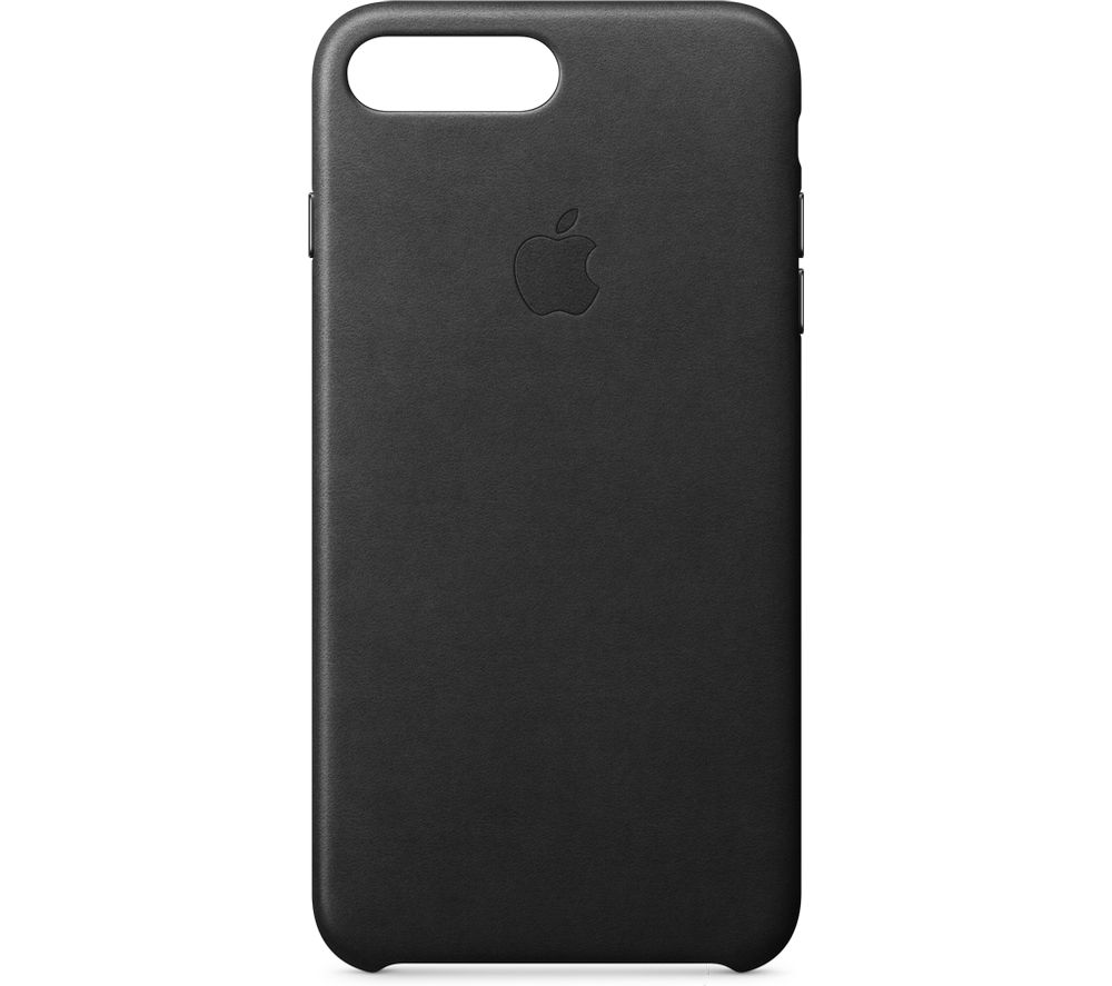 APPLE Leather iPhone 7 Plus Case - Black