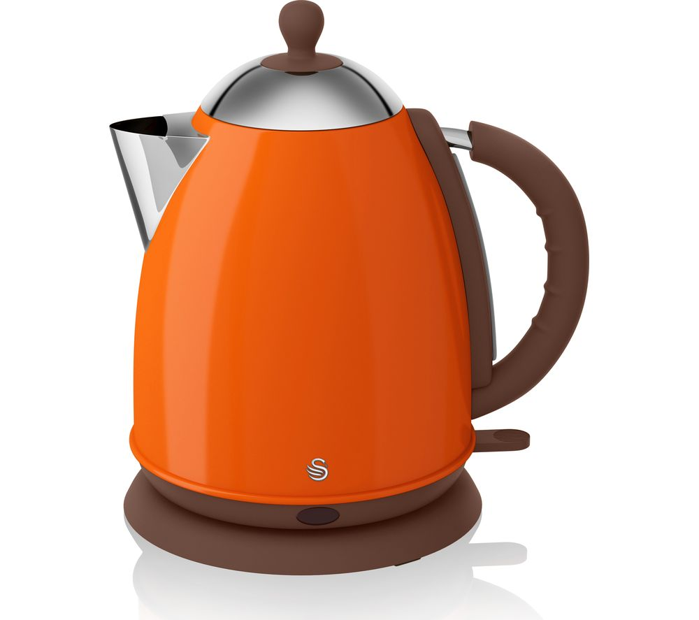 SWAN  SK261050ON Jug Kettle  Orange Orange