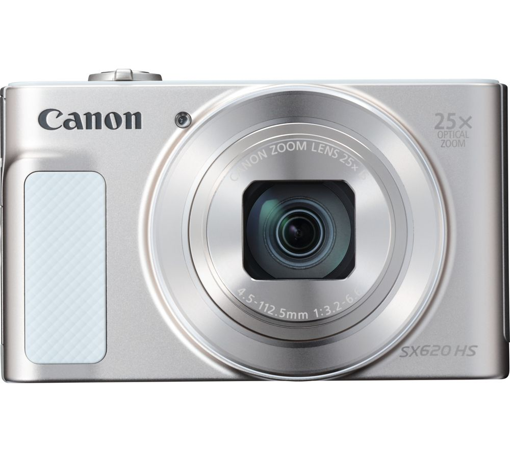 CANON PowerShot SX620 HS Superzoom Compact Camera - White