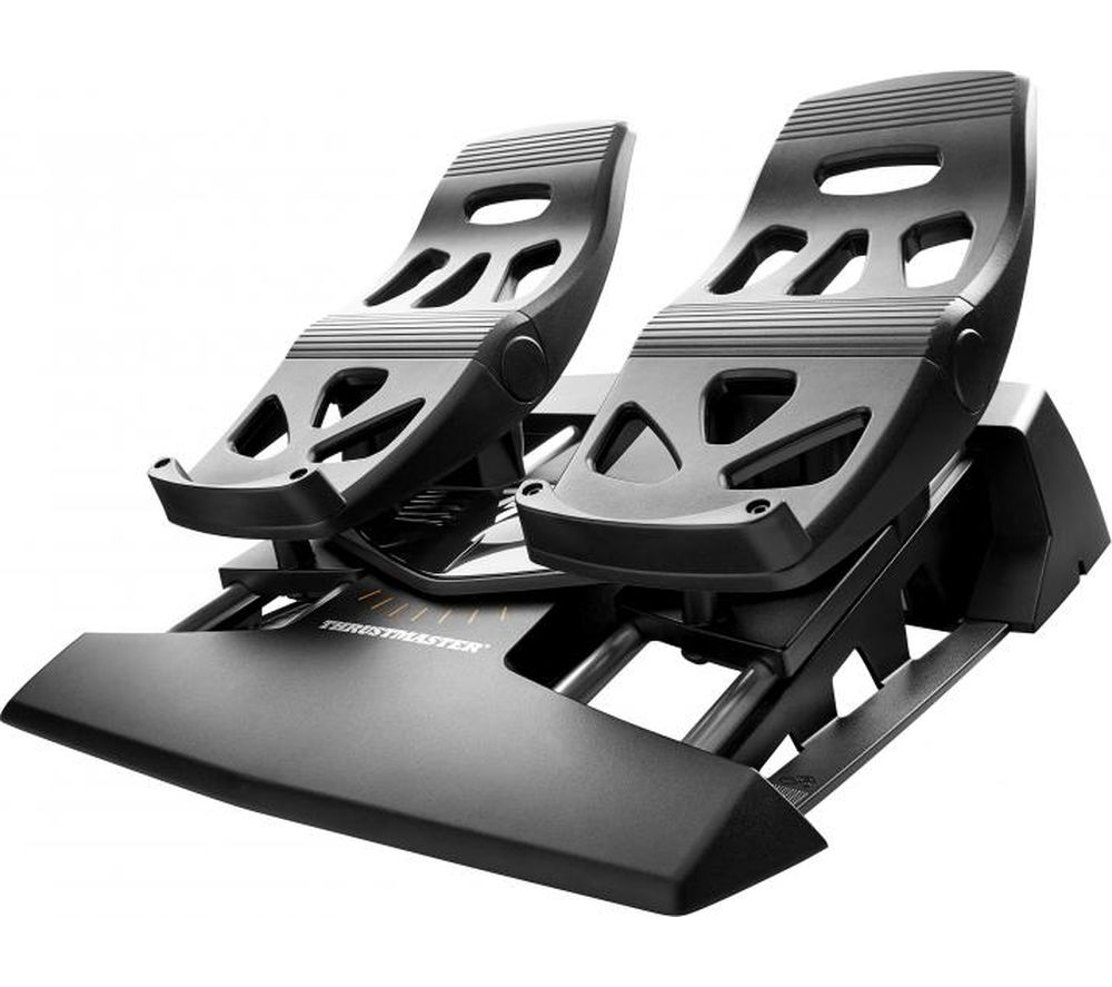 THRUSTMASTER TFRP Flight Rudder Pedals - Black
