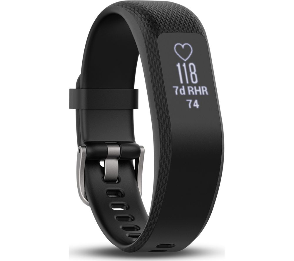 Buy Garmin Vivosmart 3 Hr Black Large Free Delivery