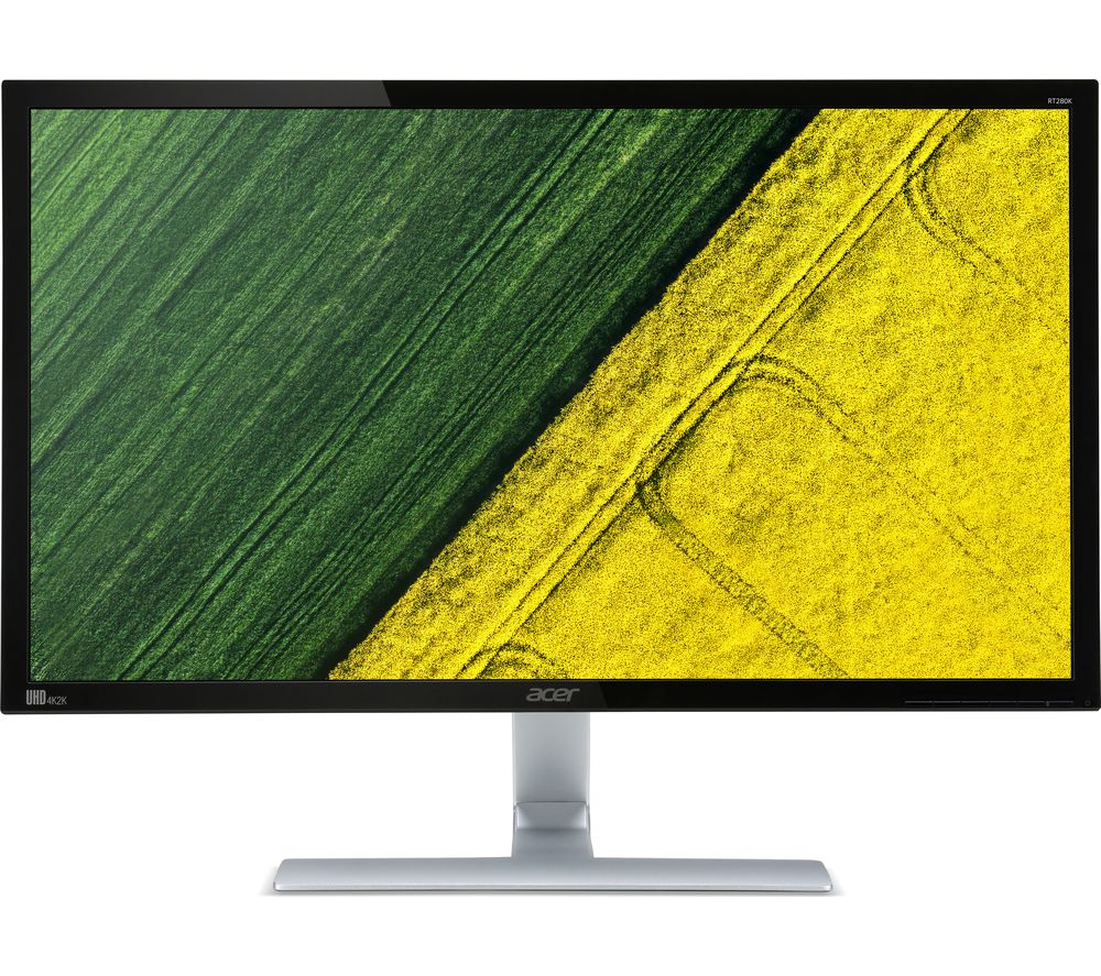 """ACER RT280Kbmjd 4K Ultra HD 28"""" LED Monitor - Black"""