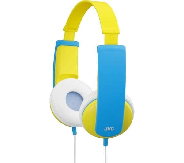 Click to view more of JVC  Tinyphones HA-KD5-Y-E Headphones - Yellow & Blue, Yellow