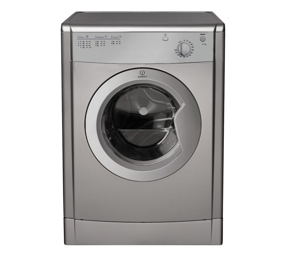 Tumble Dryer Uk ~ Indesit idv s vented tumble dryer silver