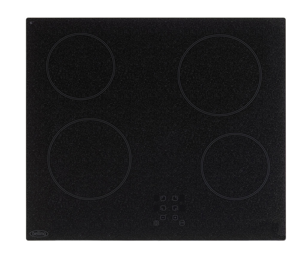 BELLING CH60T Ceramic Hob - Granite