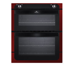 NEW WORLD NW701DO Built-under Electric Double Oven - Black & Red