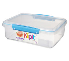 SISTEMA Klip It Rectangular 2-litre Box