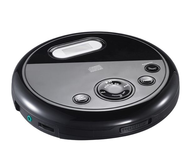 Click to view more of ESSENTIALS  CPERCD11 Personal CD Player - Black, Black