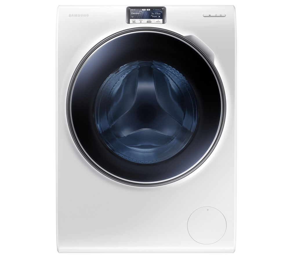 buy samsung ww10h9600ew washing machine white free delivery currys. Black Bedroom Furniture Sets. Home Design Ideas