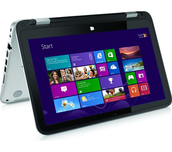 Hp Pavilion x360 Refurbished 13.3 2 in 1  Silver Silver