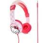 Hello Kitty Kids Headphones - Pink