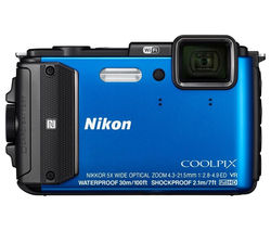 NIKON COOLPIX AW130 Tough Compact Camera - Blue
