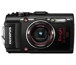 OLYMPUS TG-4 Tough Compact Camera - Black