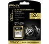 PNY Elite Performance 10 SD Memory Card - 128 GB