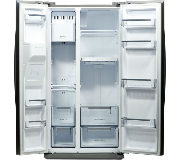American Fridge Freezer With Drawers Part - 21: DAEWOO DRQ29NPES American-Style Fridge Freezer - Silver