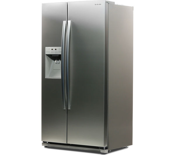 Awesome What Is An American Fridge Freezer Part - 2: DAEWOO DRQ29NPES American-Style Fridge Freezer - Silver