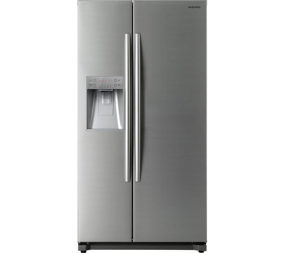 Buy Cheap Silver American Style Fridge Freezer Compare
