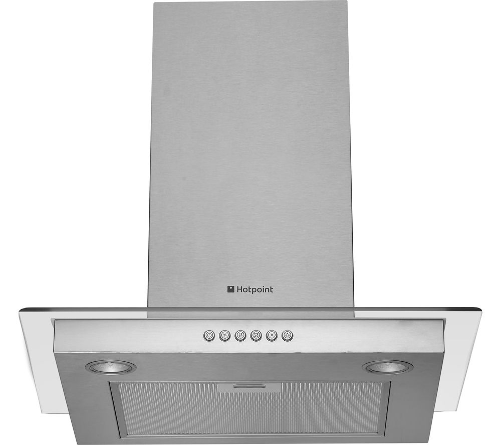 buy hotpoint newstyle hdf65sab chimney cooker hood. Black Bedroom Furniture Sets. Home Design Ideas