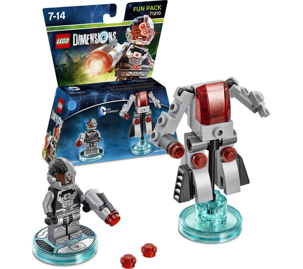 LEGO DIMENSIONS DC Cyborg Fun Pack