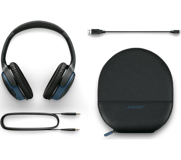 Image of BOSE SoundLink II Wireless Bluetooth Headphones - Black