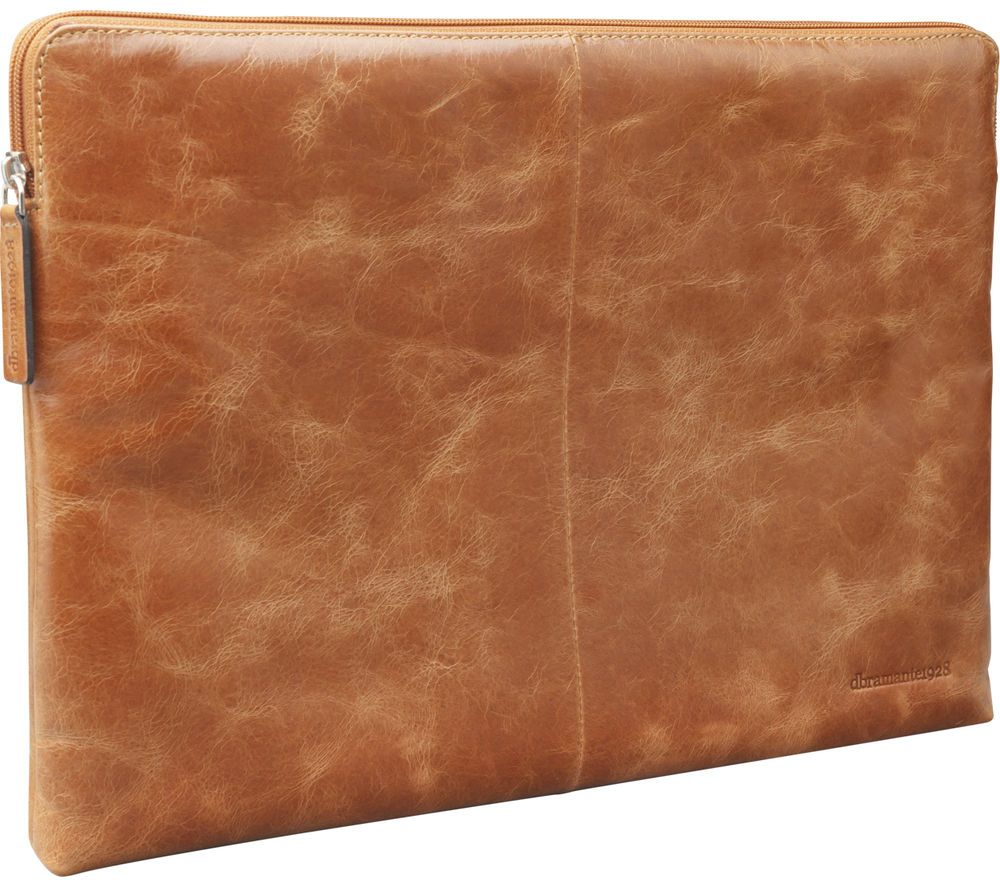 "DBRAMANTE 1928 Skagen MB 13"" MacBook Leather Sleeve - Tan"