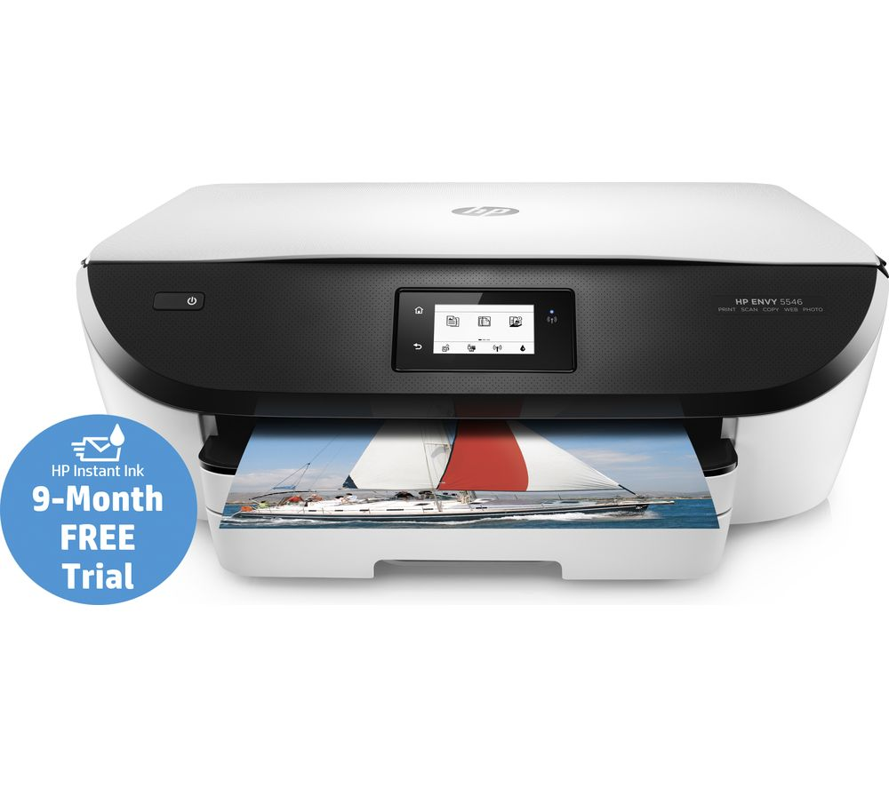 HP ENVY 5546 Home Photo All-in-One Wireless Inkjet Printer