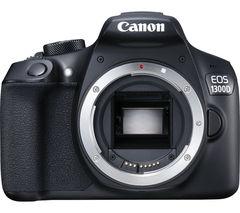 CANON EOS 1300D DSLR Camera - Black, Body Only