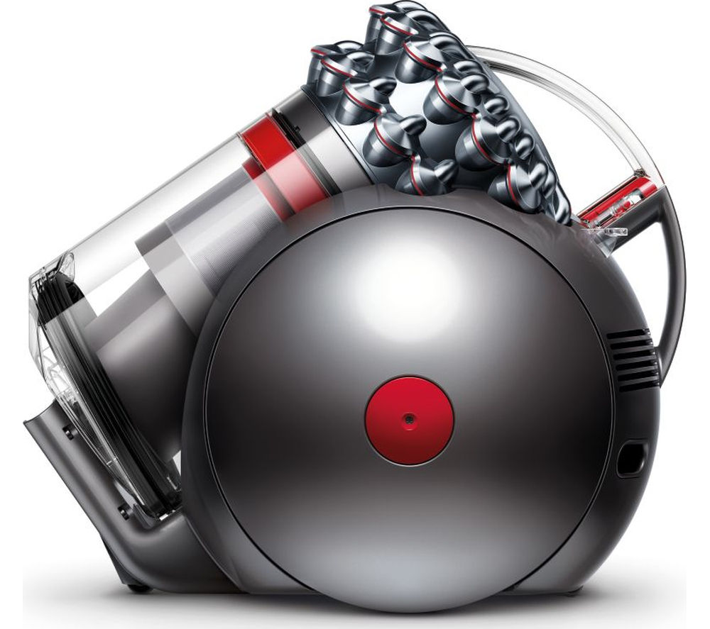 DYSON Cinetic Big Ball Animal Cylinder Bagless Vacuum Cleaner - Iron & Nickel + Clean and Tidy Kit