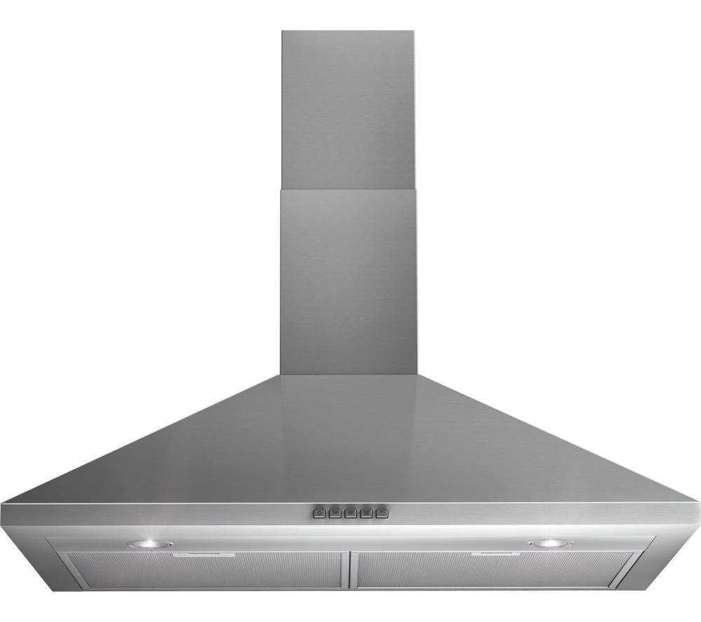 buy indesit ihp945cmix chimney cooker hood stainless. Black Bedroom Furniture Sets. Home Design Ideas