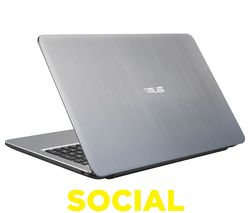 "ASUS X540SA 15.6"" Laptop - Silver"