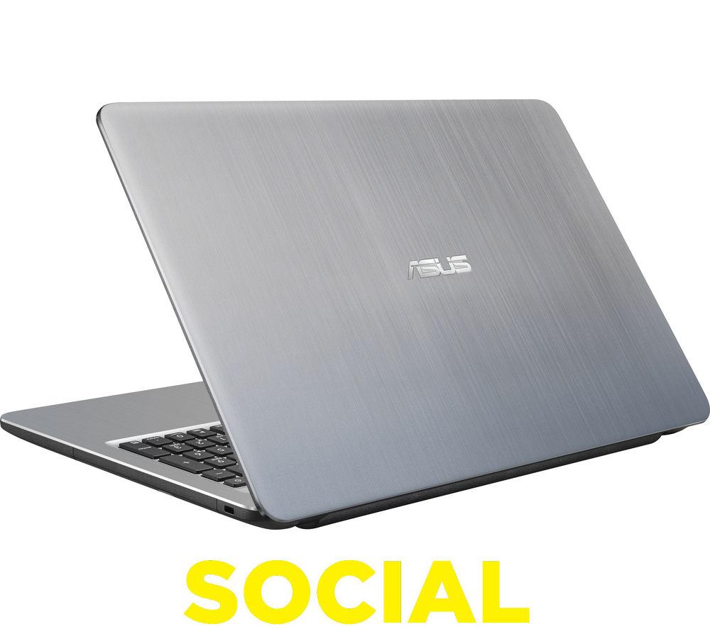 """Image of Asus X540SA 15.6"""" Laptop - Silver"""
