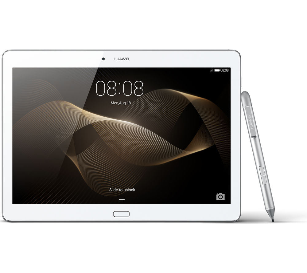 """HUAWEI MediaPad M2 Premium 10"""" Tablet - 64 GB, Silver + LiveSafe Unlimited 2017 - 1 year + Cloud Storage for Tablets & Mobiles - 200 GB, 1 year"""