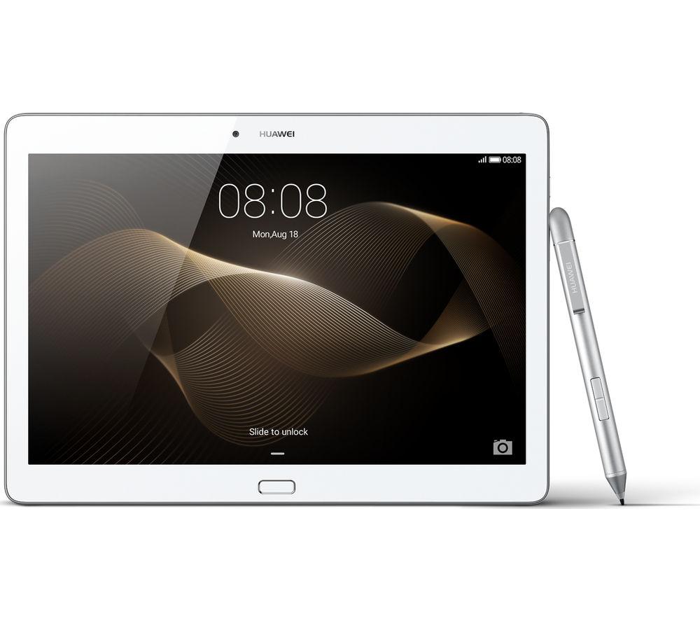 "Image of Huawei MediaPad M2 10.0 Premium 10"" Tablet - 64 GB, Silver, Silver"