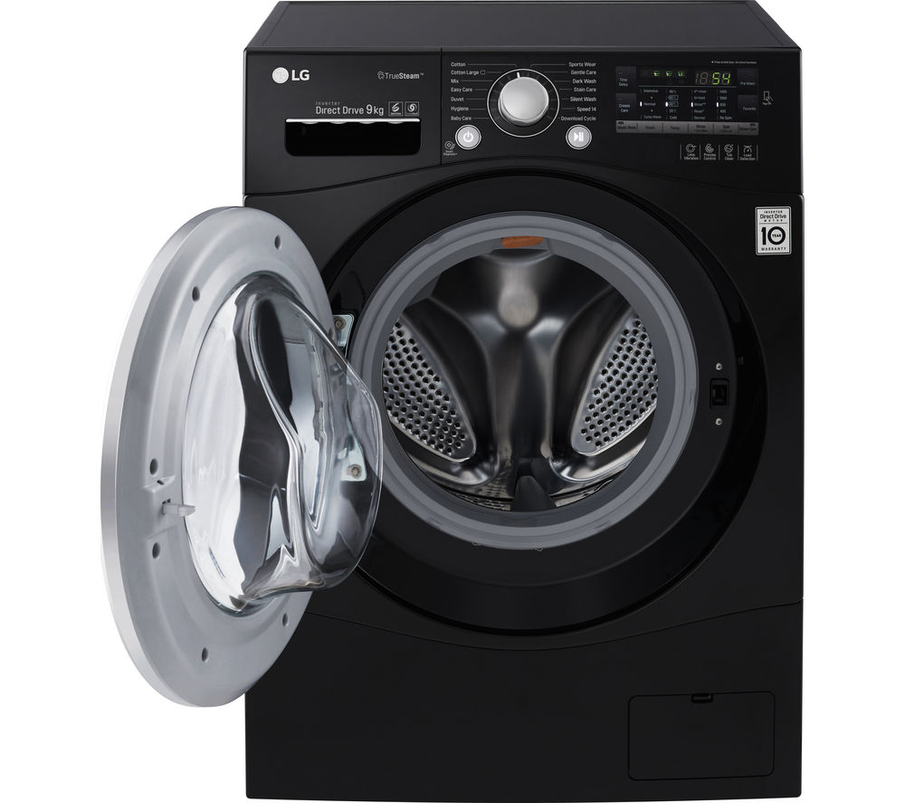 LG  FH4A8FDN8 Washing Machine  Black Black