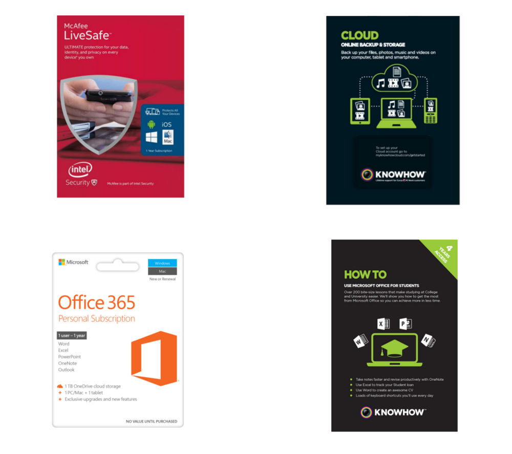 MICROSOFT Essentials Bundle and eLearning Student Online Course