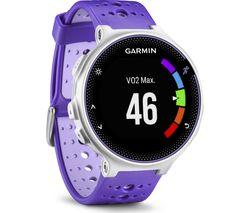 GARMIN Forerunner 230 - Purple & White