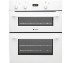 HOTPOINT UH53W Electric Built-under Double Oven - White