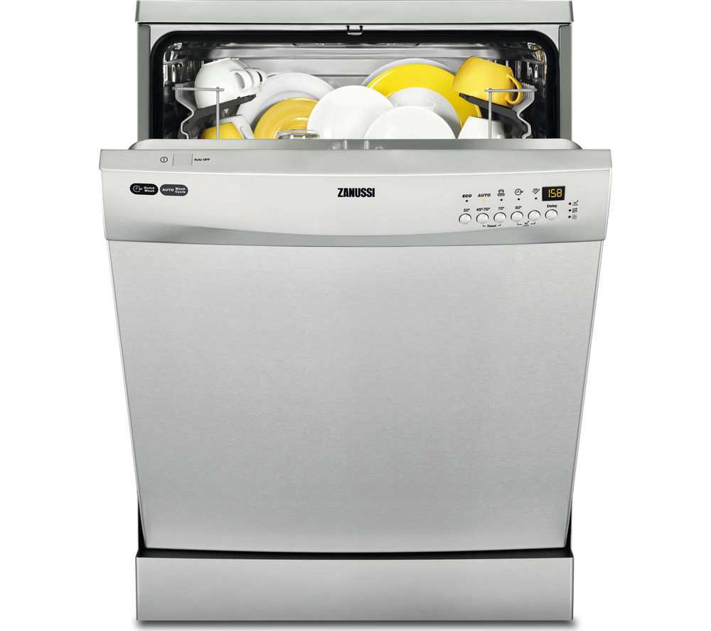 ZANUSSI  ZDF26001XA Fullsize Dishwasher  Stainless Steel Stainless Steel