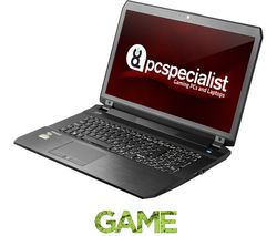 "PC SPECIALIST Defiance III RS17-XT 17.3"" Gaming Laptop - Black"