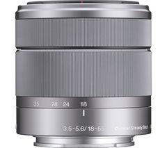 SONY E 18-55 mm f/3.5-5.6 OSS Standard Zoom Lens