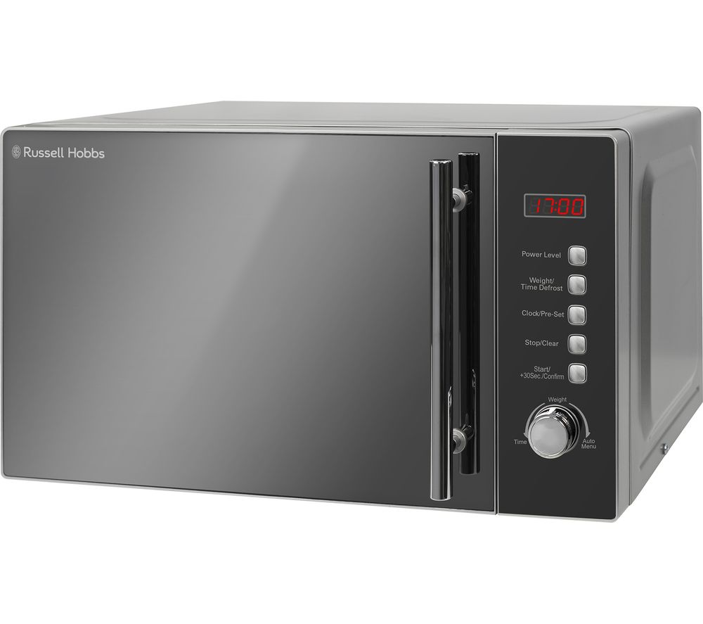 RUSSELL HOBBS  RHM2096 Solo Microwave  Silver Silver