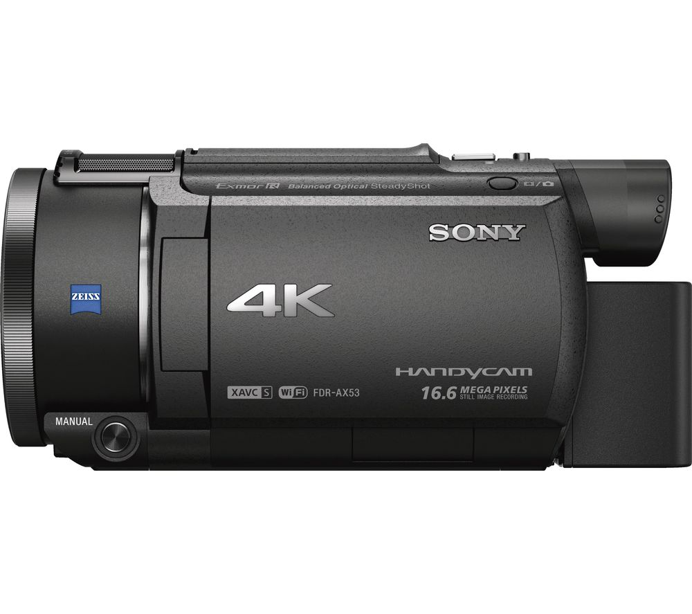 SONY FDR-AX53 Traditional Camcorder - Black