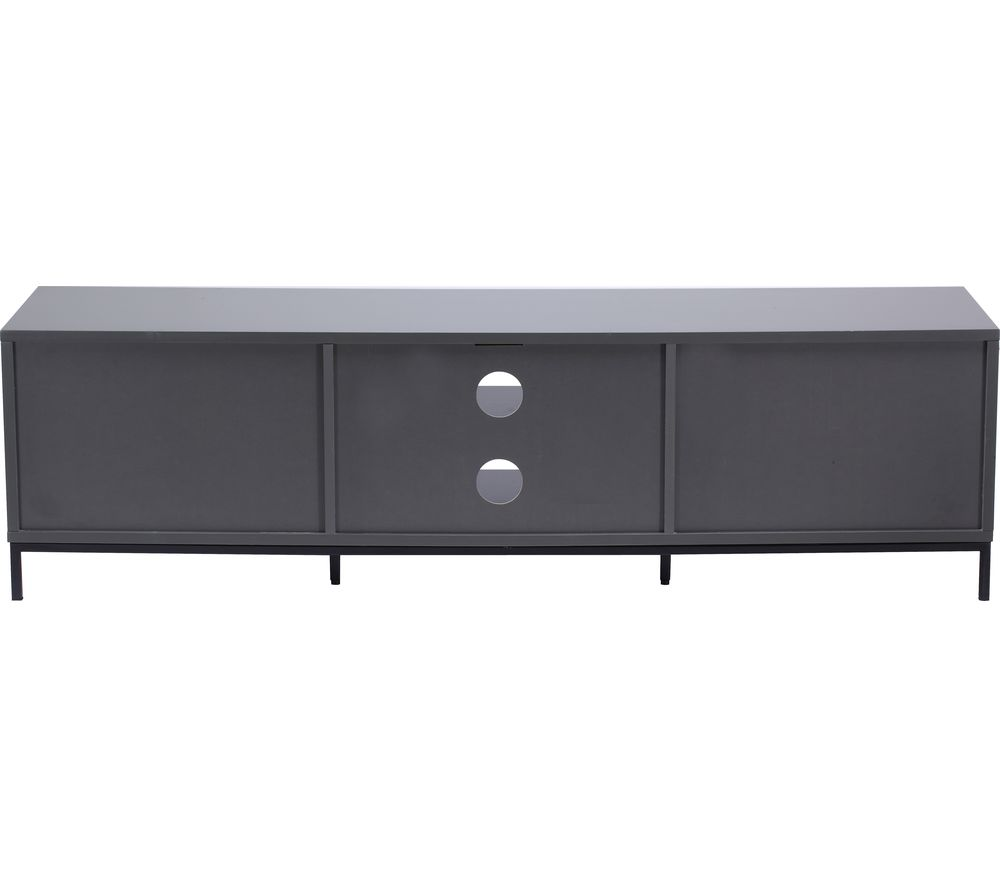 Image of ALPHASON ADCH1600 TV Stand - Charcoal, Charcoal