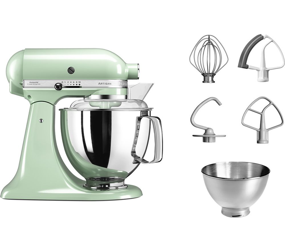 buy kitchenaid artisan 5ksm175bpt stand mixer pistachio. Black Bedroom Furniture Sets. Home Design Ideas