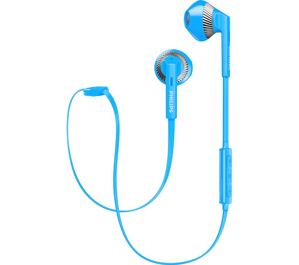 PHILIPS SHB5250BL Wireless Bluetooth Headphones - Blue