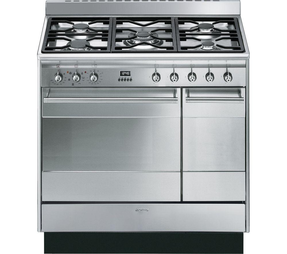 smeg concert 90 cm dual fuel range cooker review. Black Bedroom Furniture Sets. Home Design Ideas
