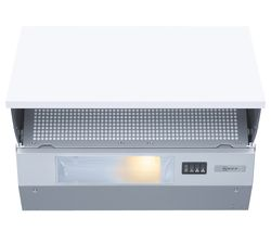 NEFF D2615X0GB Integrated Cooker Hood - Silver