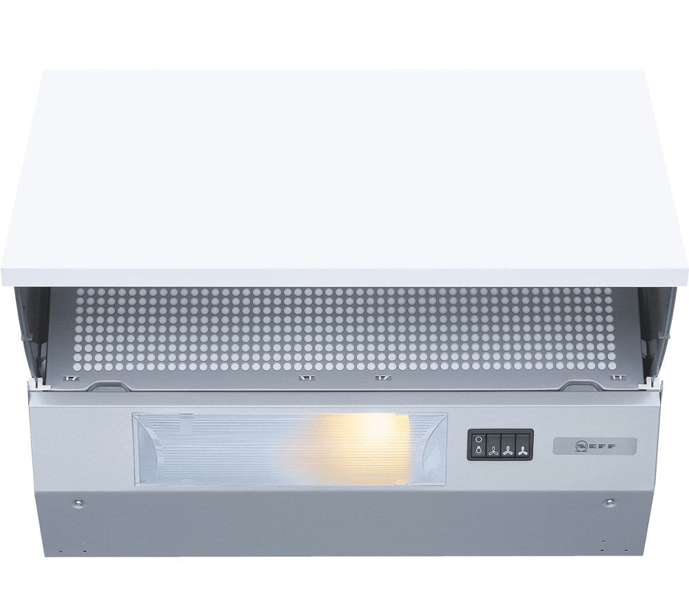 NEFF D2615X0GB Integrated Cooker Hood  Silver Silver